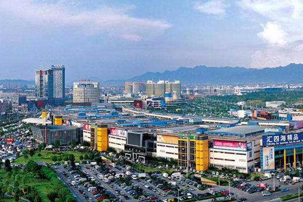 Mercado de Yiwu e o distrito 1