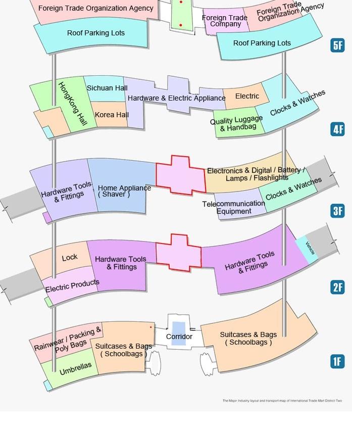 mercado de yiwu mapa distrito 2