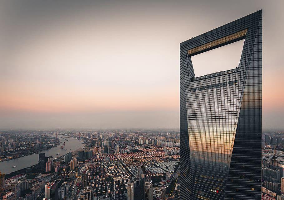 Gráficos: Arranha Céus construídos na China em comparação ao mundo